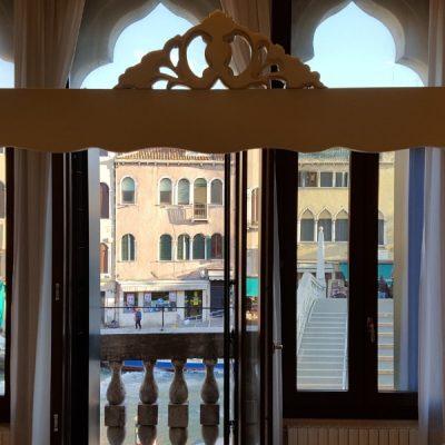 double chambre deluxe lit hotel venise